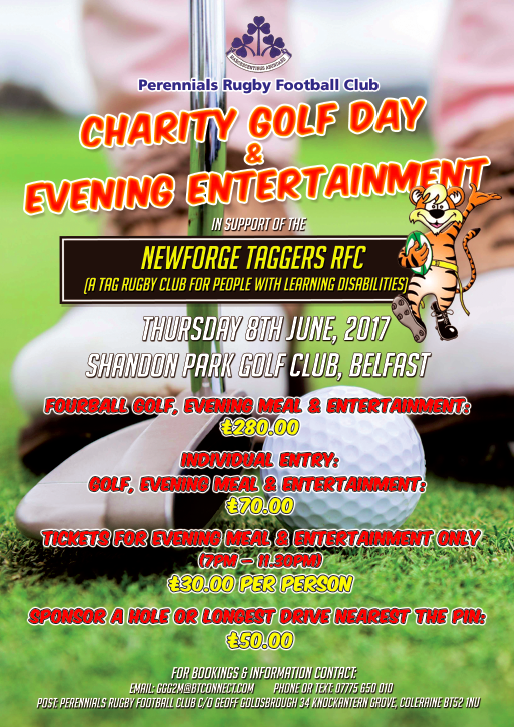 Charity Golf Day & Fundraiser